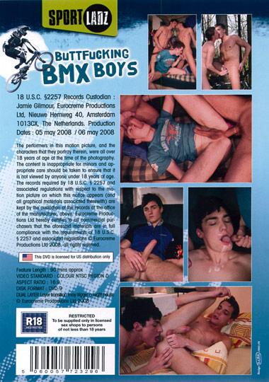 Buttfucking BMX Boys Cover Back