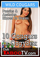 10 Cougars In Orgy Sex