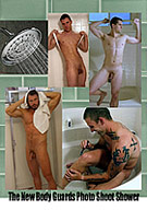 The New Body Guards Photo Shoot Shower