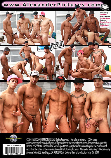 Brazilian Orgy Cover Back