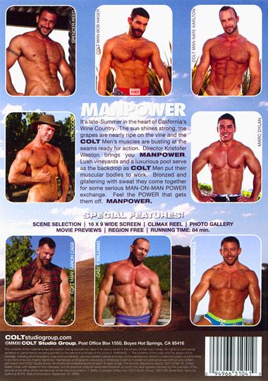 Manpower Cover Back