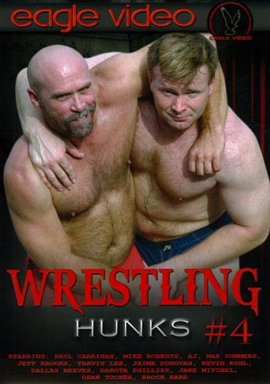 Wrestling Hunks 4 Cover Front