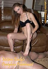 Mistress Emily's Pantyhose Punishment