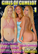 Girls Of Cumelot: Phoenix Ray, Ashley Long, Lauren Phoenix, Lana Moore