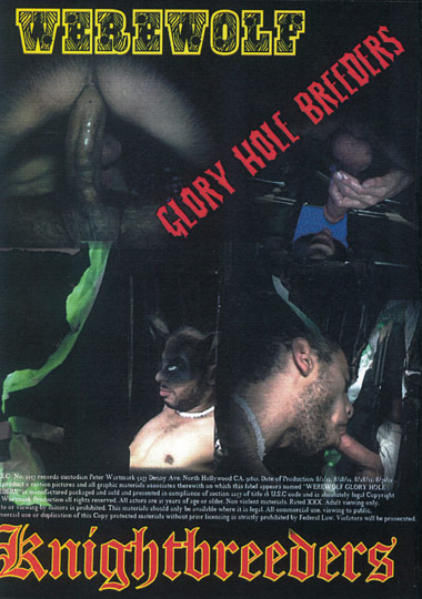 Werewolf Glory Hole Breeders Cover Front