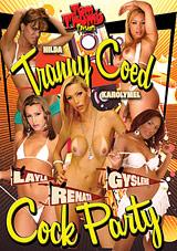 Tranny Coed Cock Party