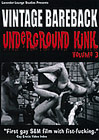 Vintage Bareback: Underground Kink 3