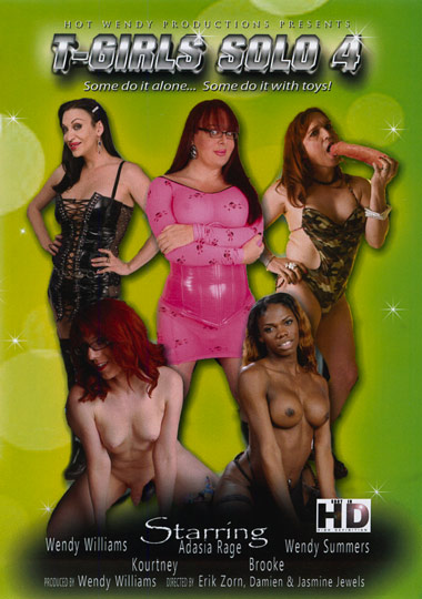 T-Girls Solo 4 (2013) - TS Wendy Williams, Wendy Summers