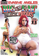 Big Um Fat Black Freaks 13