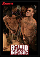 Bound In Public: Adam Knox Gets Caught In A Cum Fest