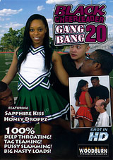 Black Cheerleader Gang Bang 20