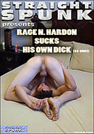 Straight Spunk:  Rage N. Hardon Sucks His Own Dick