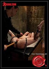 The Training Of O: Sasha Knox Day One