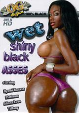 Wet Shiny Black Ass