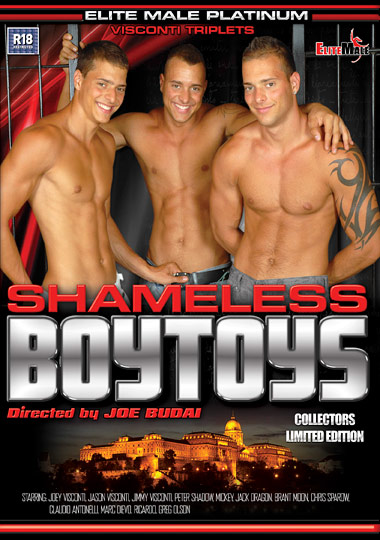 Shameless BoyToys Cover Front
