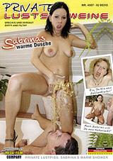 Private Lustschweine: Sabrinas Warme Dusche