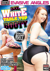 3XL White Table Top Booty