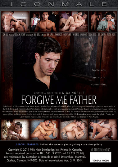 Forgive Me Father 1 Cover Back