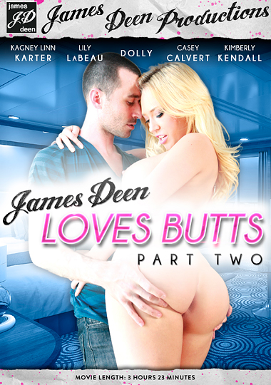 James Deen Loves Butts 2 cover
