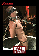 Bound In Public: Horny Crowd Torments Bound Muscled Stud For BIP's Pre-Halloween Party
