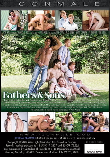 Fathers and Sons 1 Cover Front