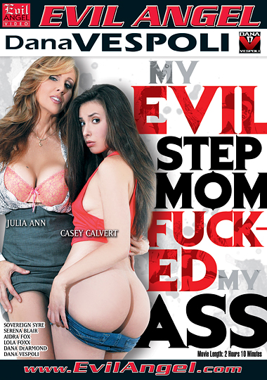 My Evil Stepmom Fucked My Ass cover