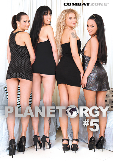 Planet Orgy 5 cover