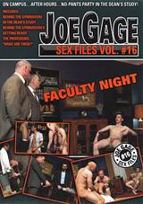 Joe Gage Sex Files 16: Faculty Night
