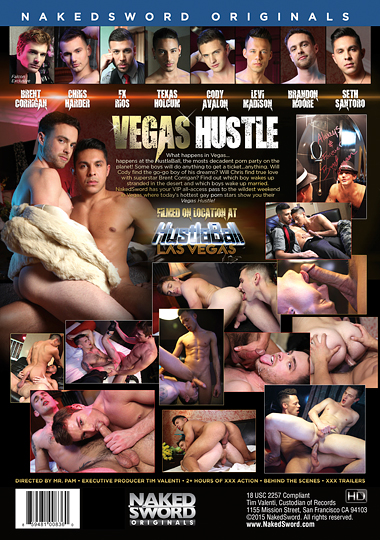 Vegas Hustle Cover Back