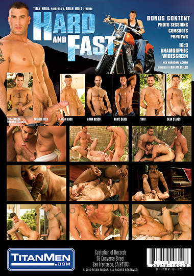 Hard and Fast Cover Back