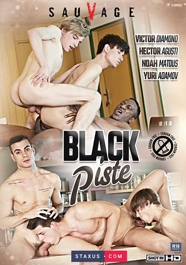 Black Piste Cover Front