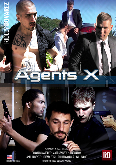 Agents X Cover Front