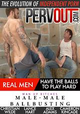 Male-Male Ballbusting