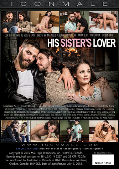His Sisters Lover 1 Cover Back