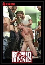 Bound In Public: Rude Punk Gets Gangbanged And Shoved In The Dryer At The Laundromat