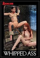 Whipped Ass: Elle Alexandra, Gorgeous Redhead Dominatrix Punishes Mia Gold
