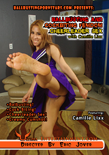 Ballbusting And Cockbiting Femdom Cheerleader Sex With Camille Lixx