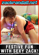 Festive Fun With Sexy Zack