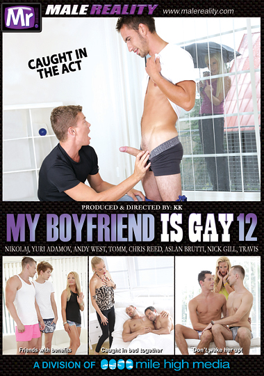 My Boyfriend Is Gay 12 Cover Front
