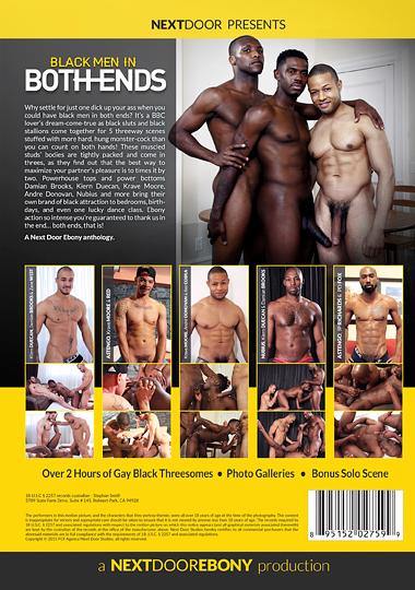 Black Men in Both Ends Cover Back