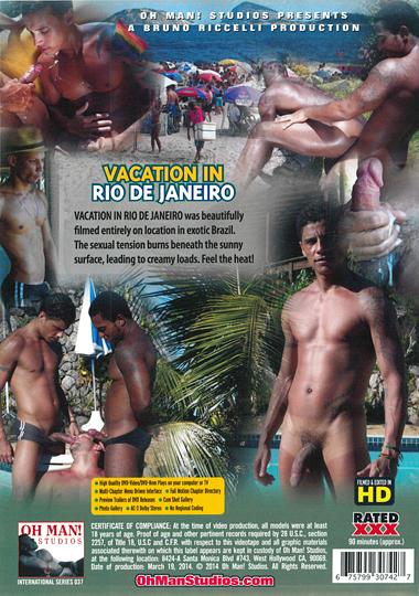 Vacation in Rio De Janeiro Cover Back