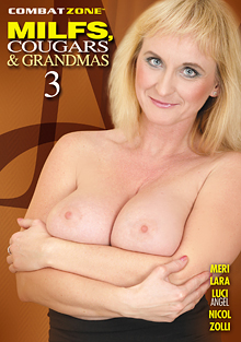 MILFs, Cougars, And Grandmas 3 cover