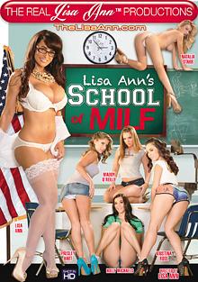 Lisa Ann's School Of MILF cover