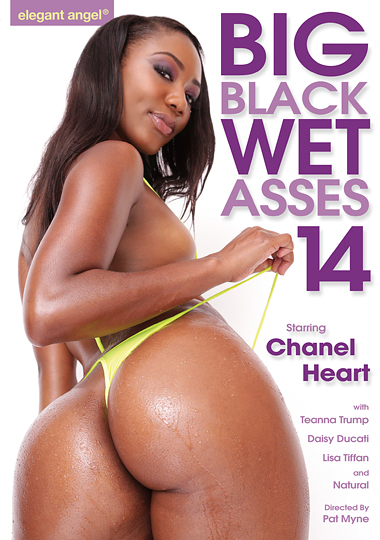 Big Black Wet Asses 14 cover