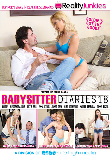 Babysitter Diaries 18 cover