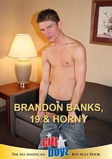 Brandon Banks 19 And Horny