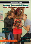 Sweaty Interracial Ebony Teen Threesome With Bella Doll