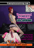 Transsexual Schoolgirl Anal Detention