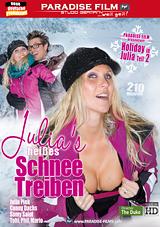 Julia's Heisses Schnee Treiben