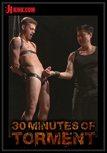 30 Minutes Of Torment: Straight Hunk Trevor Spade Tormented To The Extreme cover